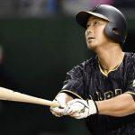 野球のスイング!中田翔のバッティングフォーム